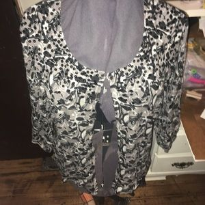 Lane Bryant cardigan with single button